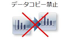 マイナンバー表示画面上のデータコピーを禁止する
